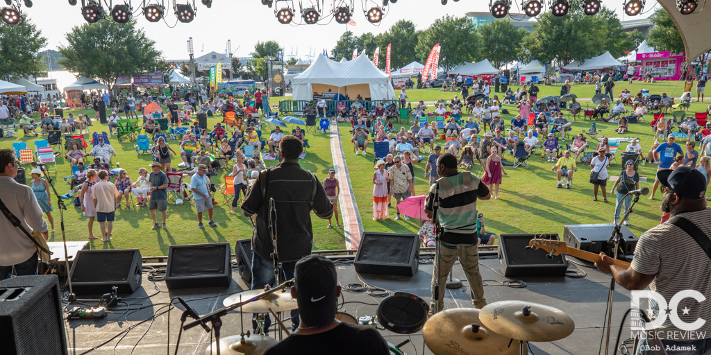 Chubby Carrier performs at the 30th Bayou Boogaloo Festival