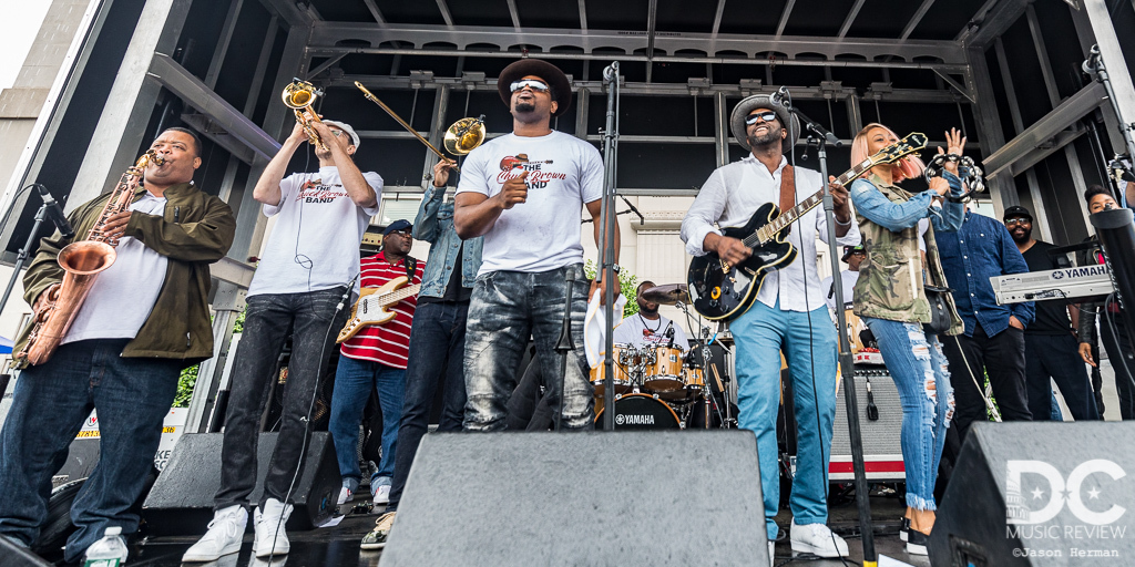 The Chuck Brown Band Performs at The 2019 Funk Parade