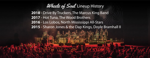 Wheels of Soul Lineup History