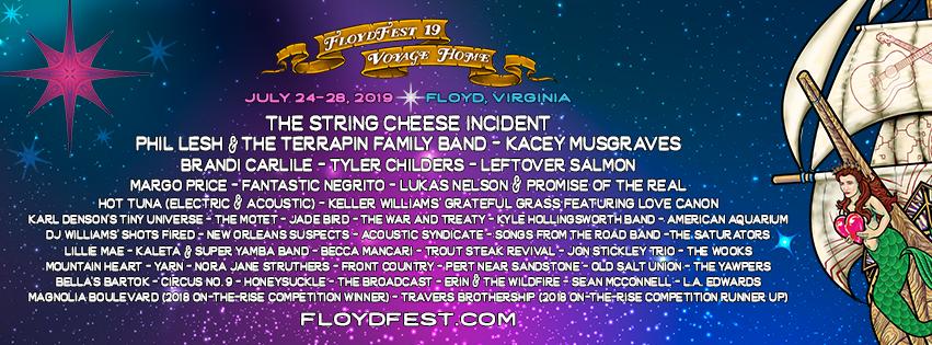 FloydFest 19 Voyage Home