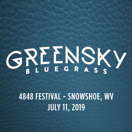 Greensky Bluegrass perform at the 4848 Festival