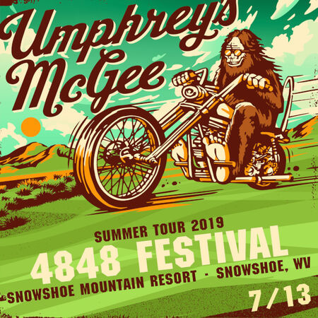 Umphrey's McGee performs at the 4848 Festival