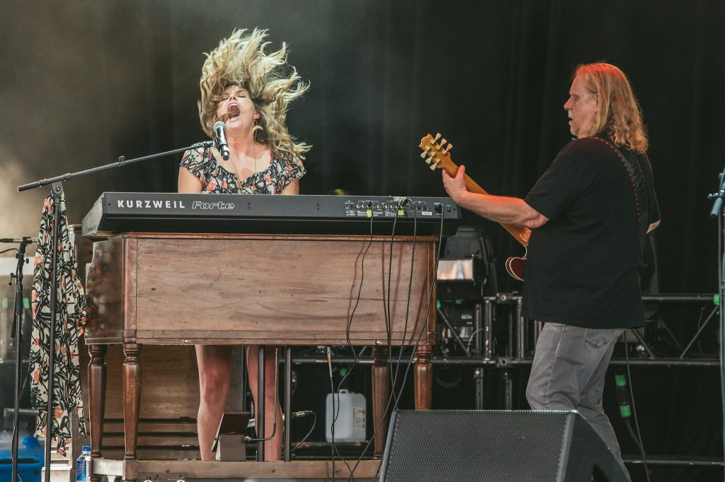 Warren Haynes and Grace Potter Photo Cred: Christopher Hoffman