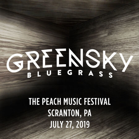 Greensky Bluegrass The Peach Music Festival, Scranton, PA