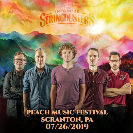 The Infamous Stringdusters The Peach Music Festival, Scranton, PA