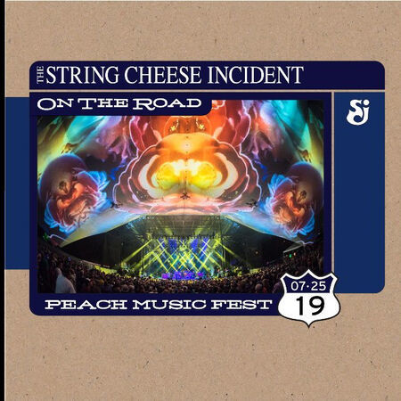 The String Cheese Incident Peach Music Festival, Scranton, PA
