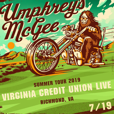 Umphrey's McGee Virginia Credit Union Live, Richmond, VA