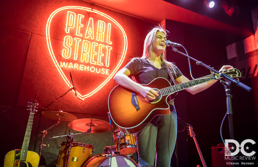 Alana Springsteen performs at Pearl Street Warehouse
