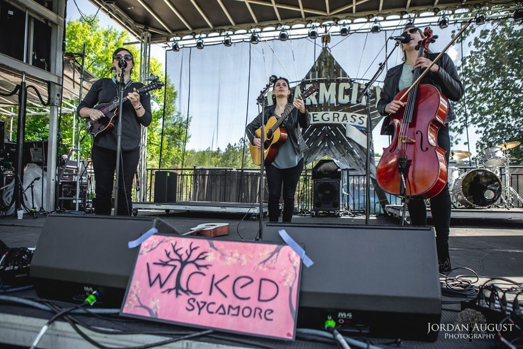 Wicked Sycamore performs at Charm City Bluegrass (Photo Credit: Jordan August)