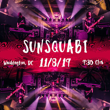 SunSquabi Performs at the 9:30 Club