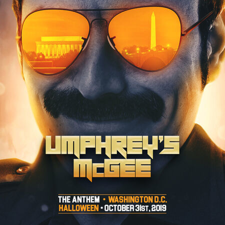 Umphrey's McGee perform at The Anthem on October 31, 2019