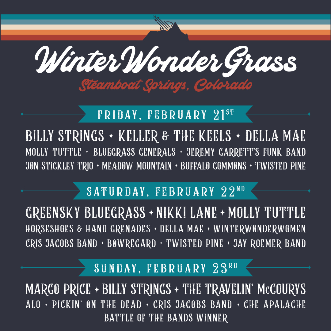 Winter Wonder Grass - Daily Lineup