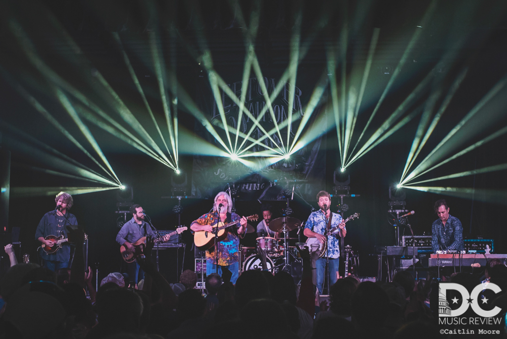 Leftover Salmon performs at The State Theater in 2018