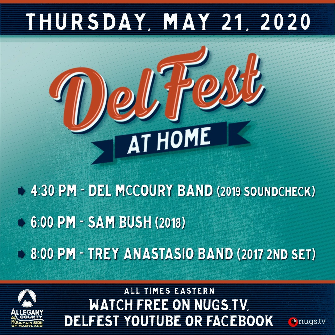 DelFest at Home - Thursday, May 21, 2020