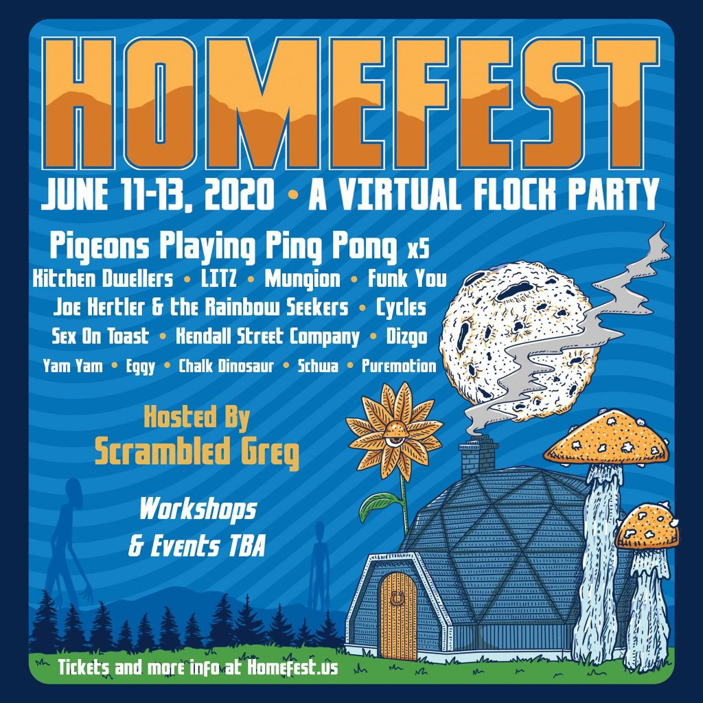 Homefest Preliminary Lineup