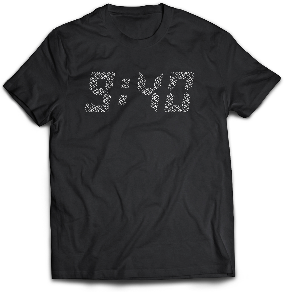The 9:30 Club celebrates their 40th anniversary with a new t-shirt
